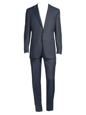 CANALI Modern-Fit Wool Suit