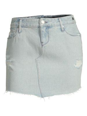Simone Denim Mini Skirt