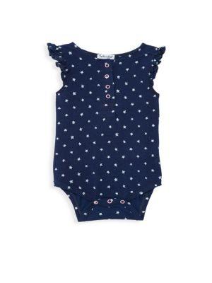 Baby Girl's Indigo Bodysuit