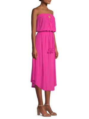 Stephanie Lace-Up Dress