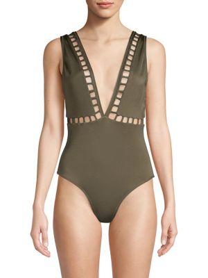 Ela Plunge One-Piece Swimsuit