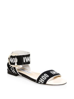 Breanne Flat Ankle-Strap Sandals
