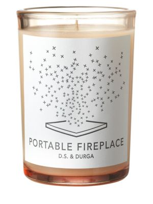 Portable Fireplace Candle/8 oz.