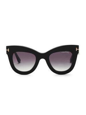 Karina 47MM Square Sunglasses