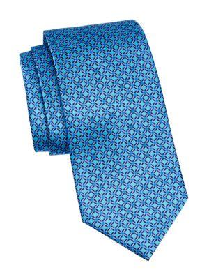 Pinwheel Silk Tie