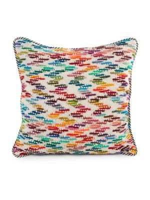 Square Zig Zag Pillow