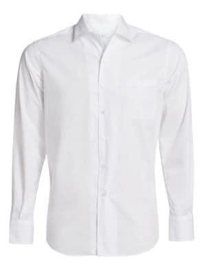 Andre Cotton Button-Down Shirt