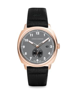 Meridian Leather Strap Watch