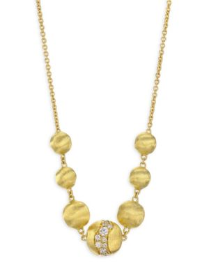 Marco Bicego 18K Gold Africa Necklace, 48