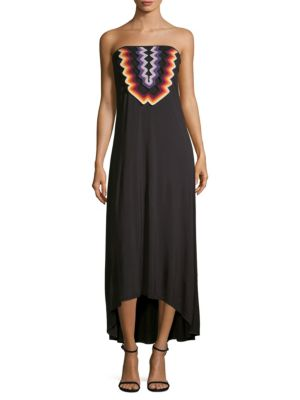 Dillon Strapless Midi Dress
