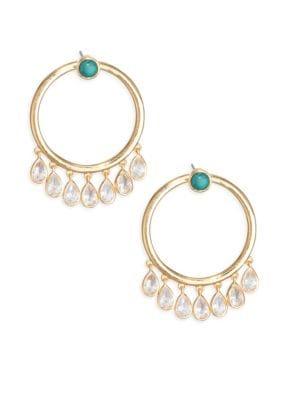JULES SMITH Calypso Crystal Hoops