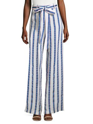 Sia Striped Trousers
