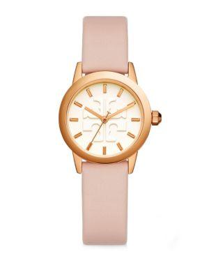 Gigi Rose Gold-Tone & Blush Pink Leather Watch