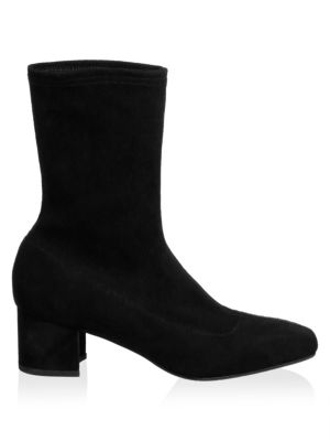 Janine Mid Calf Suede Boots by Aquatalia
