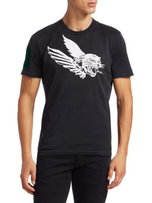 GIVENCHY Flying Cat Print Tee
