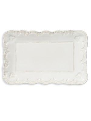 Incanto Stone Lace Small Rectangular Platter