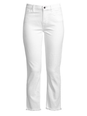 JEN7 BY 7 FOR ALL MANKIND Straight Cropped Jeans