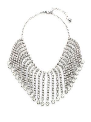 Glitzville Fringe Collar Necklace
