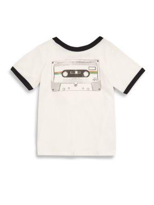 Baby's & Toddler's Cassette Ringer Tee