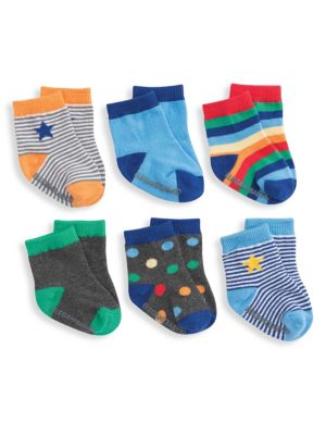Baby's Primary 6-Pack Sock Set