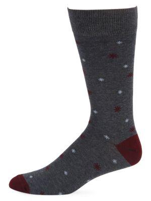 Mini Snowflakes Crew Socks