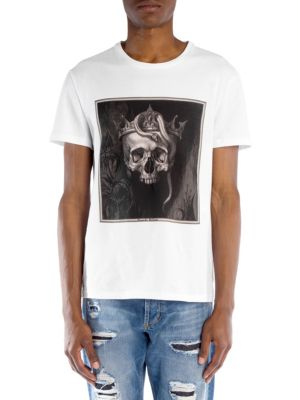 Skull Square Graphic Tee