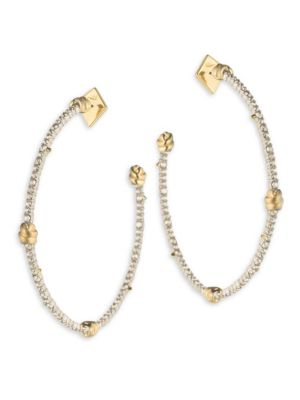 Roxbury Muse Knotted Hoop Earrings