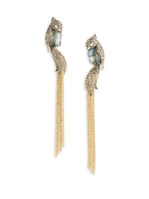 Love Bird Tassel Drop Earrings