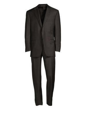 Regular-Fit Two-Button Wool-Blend Suit