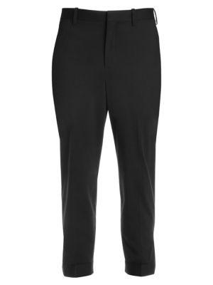 NEIL BARRETT Zip Ankle Pants