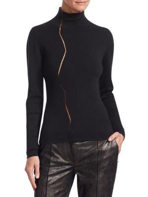 Marble Mockneck Sweater
