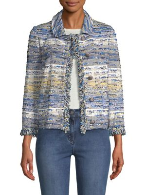 Ombre Tweed Jacket