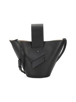 Amphora Leather Bucket Bag