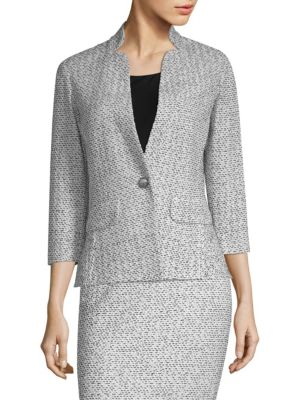 Olivia Bouclé-Knit Jacket