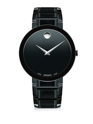 Sapphire Black PVD Stainless Steel Bracelet Watch