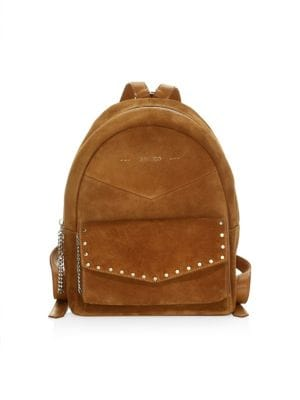 Cassie Suede Backpack