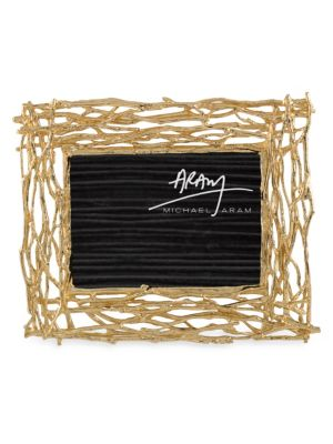 Butterfly Ginkgo Twig Picture Frame