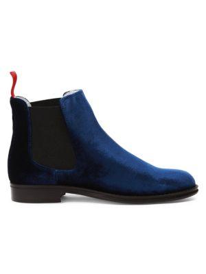 Chelsea Velvet Boots