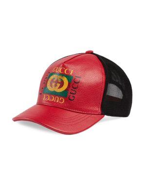 Logo Print Baseball Hat