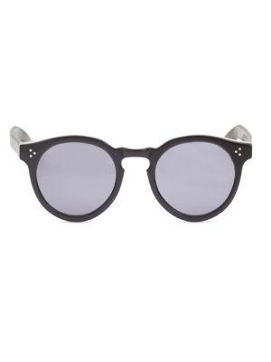 Leonard 53MM Round Sunglasses