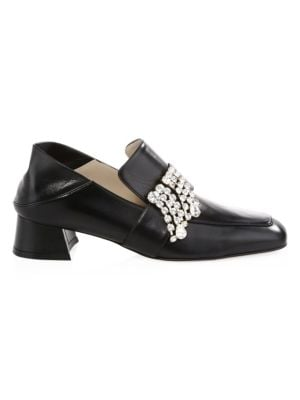 Irises Buckle Loafers
