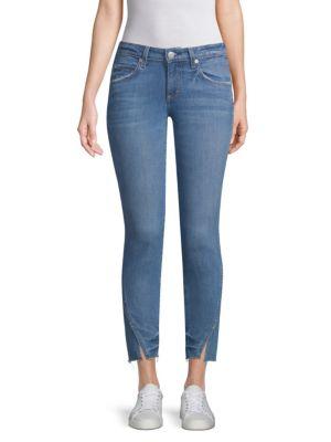 Twist Skinny Ankle Jeans