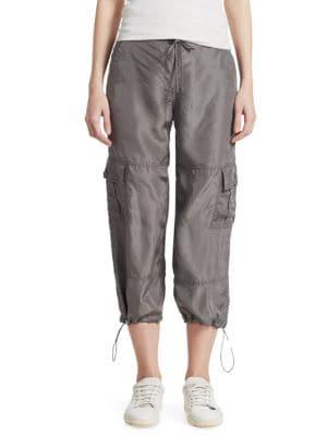 Utility Cargo Capri Pants