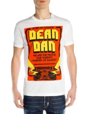 Dean Dan Boom Box Tee