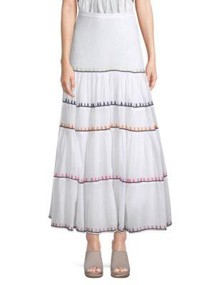 Iris Rainbow Maxi Skirt