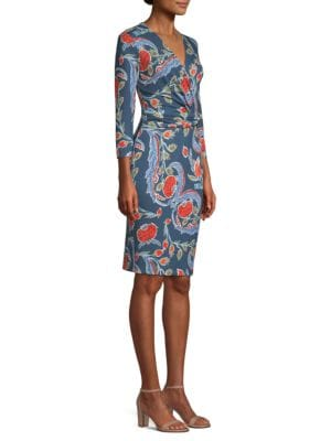 Dalvasa Belted Jersey Dress by Escada