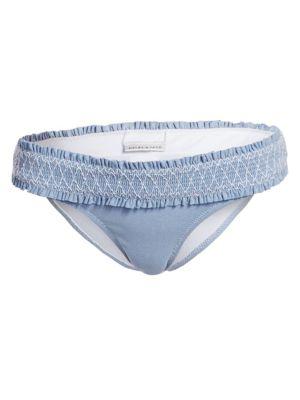 Smocked Hipster Bikini Bottom