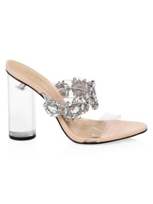 Image result for Schutz Blanck Transparent Sandals