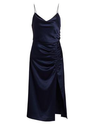 Dion Ruched Slip Dress