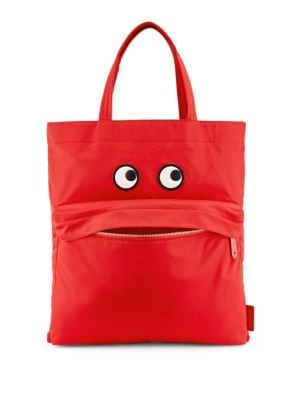 Eyes Nylon Tote Bag